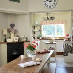 Country-dining-room-with-rustic-wooden-table-767x920
