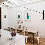 Modern-dining-area-with-statement-lighting-1-767x920