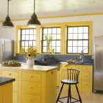 Bright-Yellow-Farmhouse-Kitchen-Cabinets