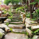 Stacked-stone-staircase-becomes-the-showstopper-of-this-Oriental-garden