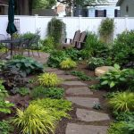 exterior-low-maintenance-landscaping-design-with-stone-firepit-also-stone-pavers-and-stone-step-for-modern-landscape-ideas-smart-tips-for-low-maintenance-landscaping-for-your