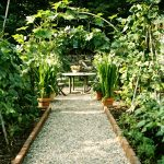 Garden-path-to-a-seating-area